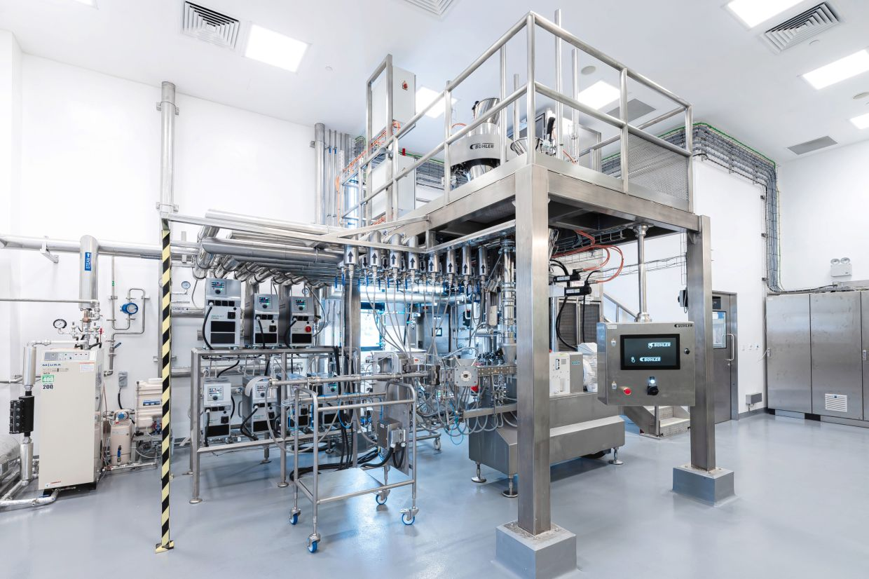 The new Protein Innovation Centre in Singapore helps start-ups and food manufacturers develop new plant-based proteins.  Photo: PROTEIN INNOVATION CENTRE