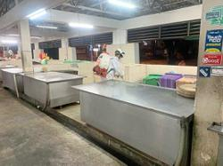 Eight new cases in Bagan Ajam's market cluster