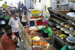 Slow business at nasi kandar outlets