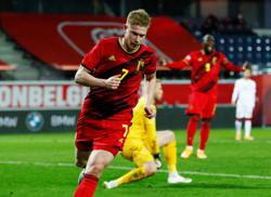 Soccer-Belgium's De Bruyne to report for Euro 2020 duty after holiday