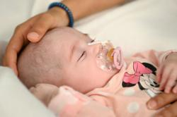 Two-month-old Spanish baby saved by pioneering heart transplant