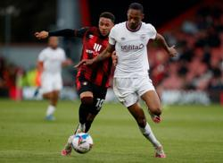 Soccer-Bournemouth take narrow lead over Brentford in playoff semi-final