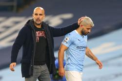 Soccer-Guardiola hopes Aguero is fit for his final City game at Etihad