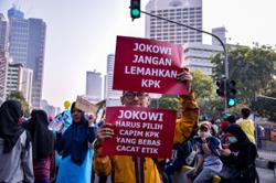 Jokowi: Civic test should not be used to dismiss graft panel employees