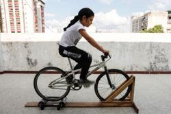 Cycling-Venezuelan 8-year-old BMX cyclist dreams of Olympic Games