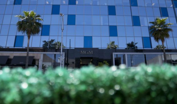 MGM office in Bverly Hills.