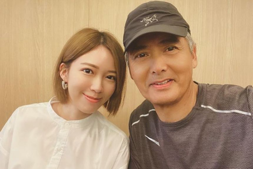 One of the first to wish Chow Yun Fat happy birthday is actress Adrian Wong. Photo: Adrian Wong/Instagram