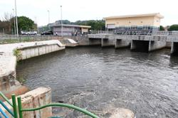Pump house stopping flood woes