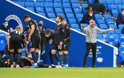 Soccer-Guardiola faces Gundogan injury worry after Brighton loss