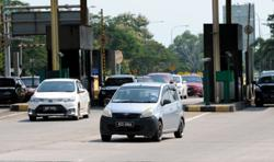 EMCO: Alor Setar south toll plaza entrance, exit temporarily closed
