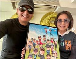 Hong Kong stars send birthday greetings to Chow Yun Fat who turns 66