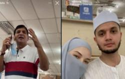 Neelofa and hubby to be charged with violating SOP during carpet shopping trip