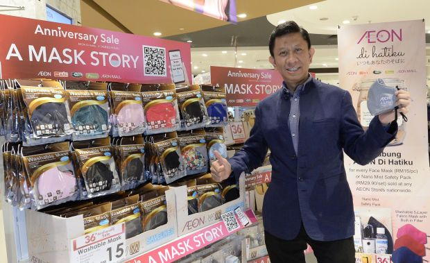 AEON Malaysia managing director and CEO Shafie Shamsuddin (file pic) said taking into consideration of the pandemic-related disruptions, the group remained grateful for the continuous support from its customers, partners and suppliers, and the dedication displayed by its hard-working employees.