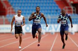 Athletics-Kerley underlines his 100m credentials