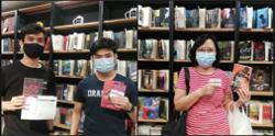 Malaysian indie publisher hands out free books as post-vaccination pick-me-up