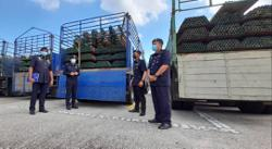 Melaka cops detained suspects involved in selling stolen scaffolding