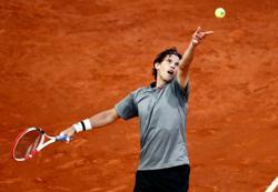 Thiem heads to Roland Garros short on confidence, matches