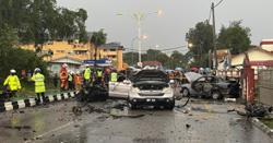 Fireworks explode in car, killing driver in Kota Baru