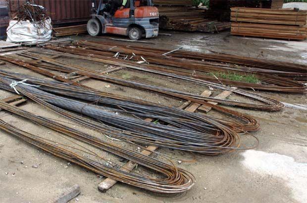 Steel iron