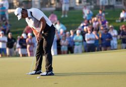 Golf: Masters champion Matsuyama back in contention at next major