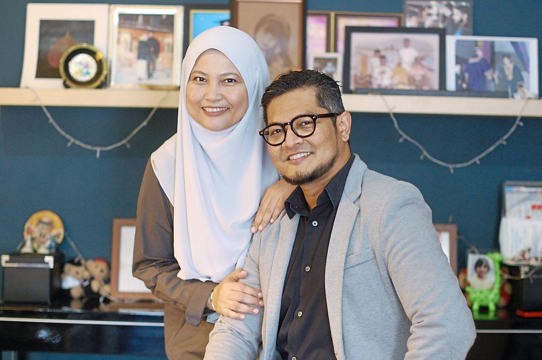 Jaihar and Noor Syahidah.