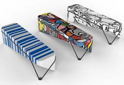 Couple win MRT station bench design competition