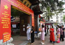 Fewer independent candidates at Vietnam parliament election; event held amid new Covid-19 outbreak