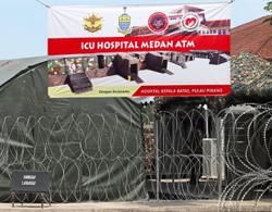 Army's field hospital with ICU beds in Kepala Batas to begin operations tomorrow