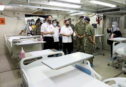 'Set up more field hospitals'