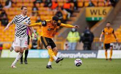 Soccer-Elanga strikes as second-string Man Utd side beat Wolves