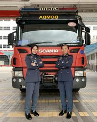 Malaysian female firefighters prove their mettle in a man's world