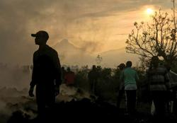Tremors shake Congo city, close schools, shops after volcanic eruption