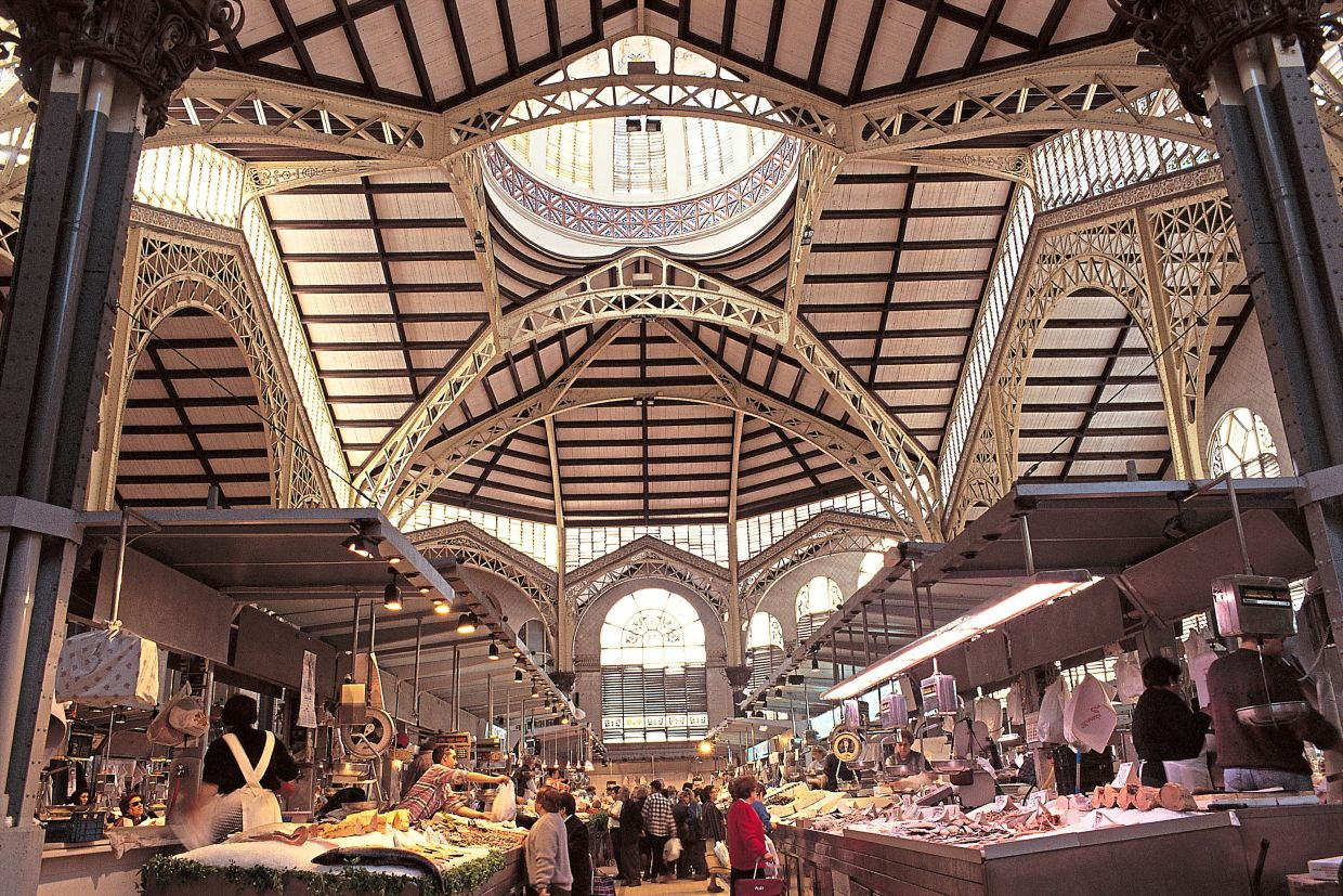 Mercado Central is one of the oldest public markets that is still actively operating in Europe. — Spain Tourism Board