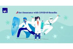 AXA AFFIN's first-ever 3-in-1 online insurance cover offers Covid-19 benefits