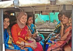 Malaysian woman goes on a sweet cultural exchange in Telangana, India