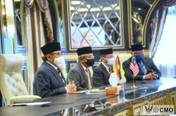 King grants audience to Sarawak CM, GPS leaders over dissolution of state assembly