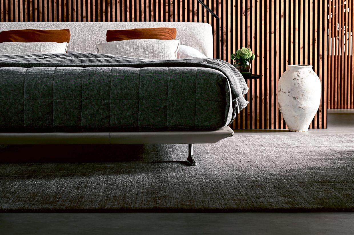 The Bellaire bed fuses clever innovative design with integrated lighting and side tables to maximise sleep space.
