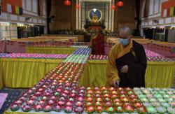 Wesak Day celebrated moderately under the new normal