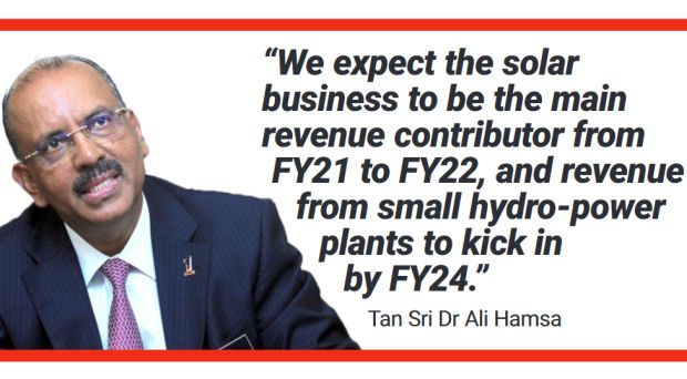 G Capital's executive director Tan Sri Dr Ali Hamsa