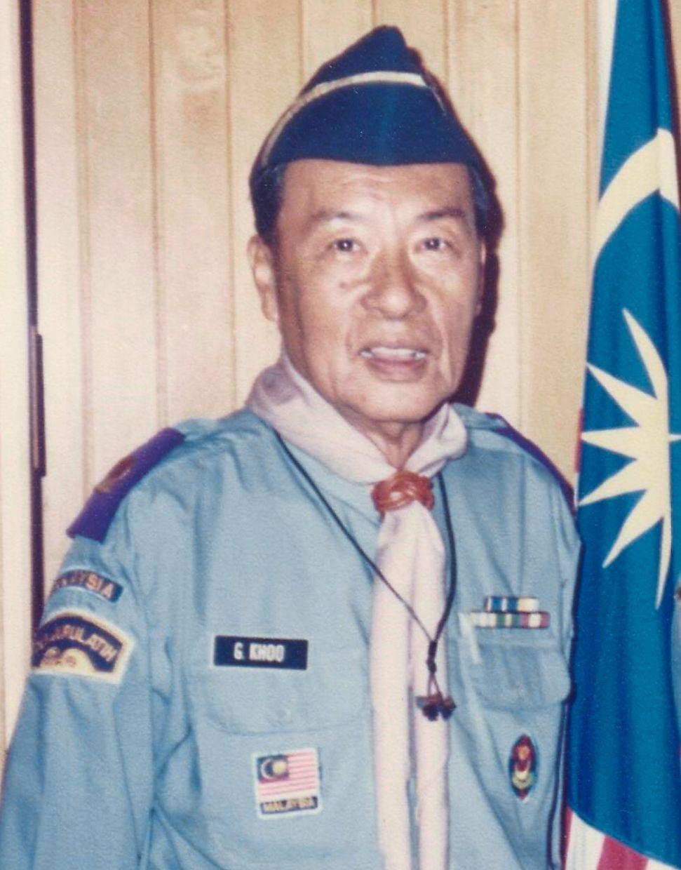 Scout leader Khoo-Yeoh Gan Hong in 2004.