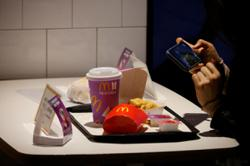 Empty food packaging from McDonalds BTS Meal going for up to RM60 online