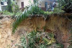Villagers in Bidor worry over soil erosion near their houses