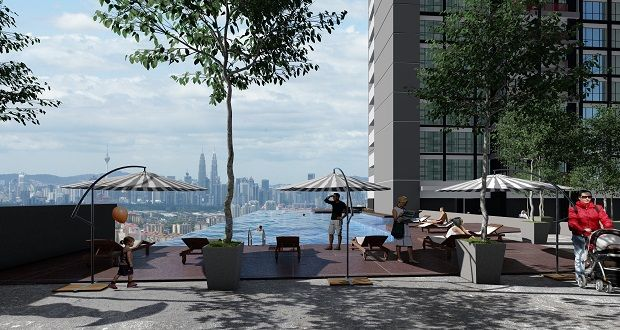 Residents of LSH33 will be pampered with an infinity pool with the skyline of KL city as backdrop.