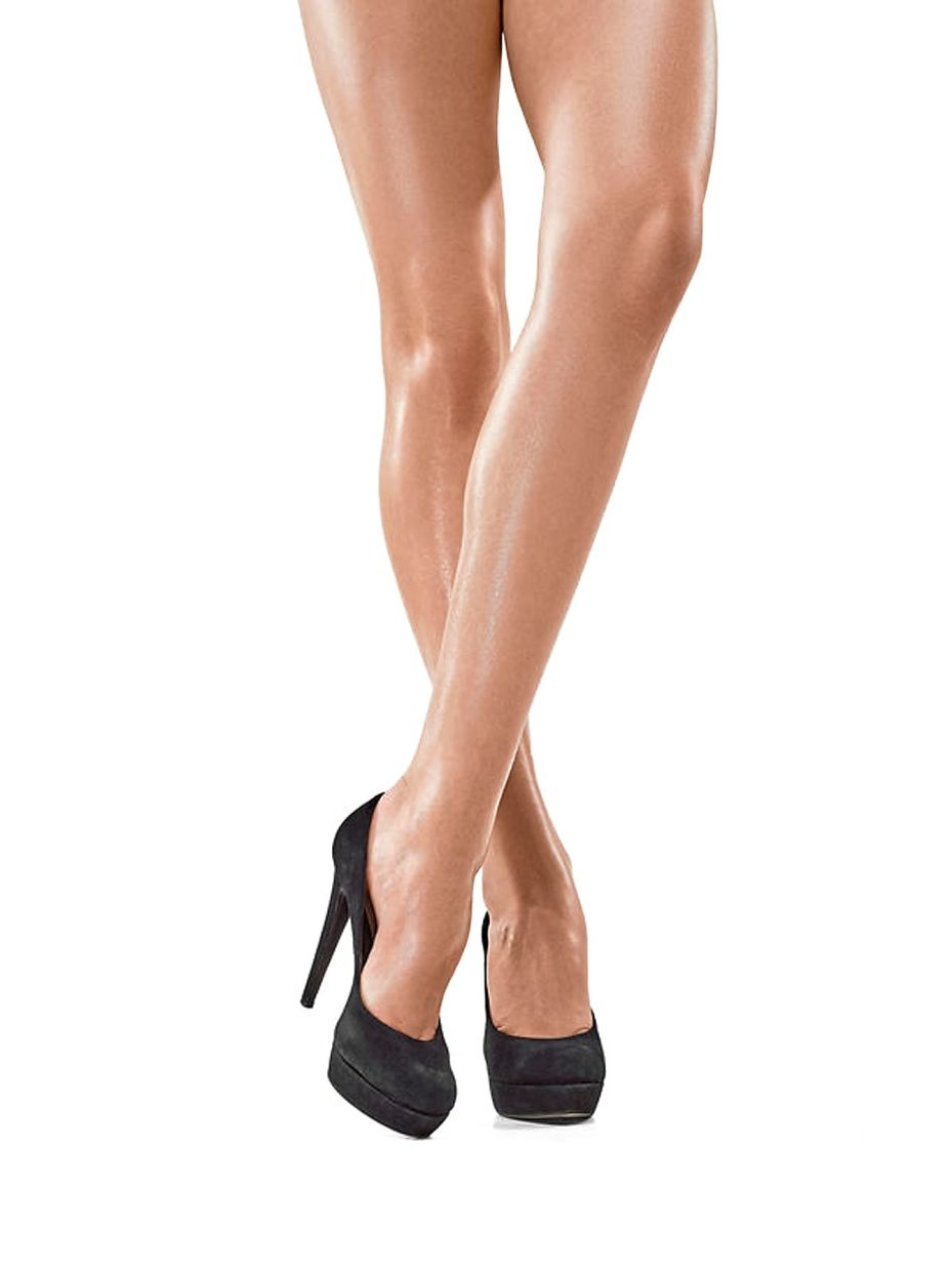 A lot of women long for toned, long legs, but length is not changeable, although muscle tone is.