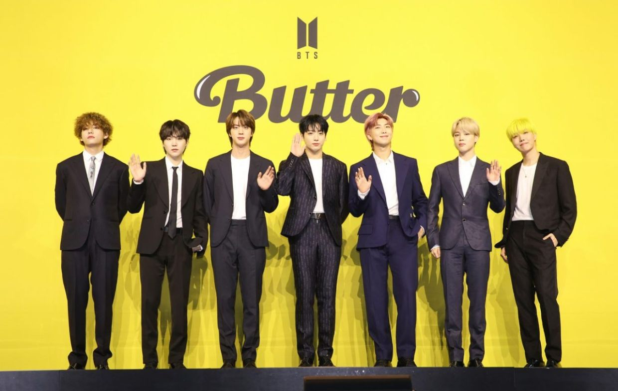 20 BTS sets new Guinness world records with 'Butter'   The Star