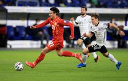 Soccer-North Macedonia unfazed by Euro challenge, says Elmas