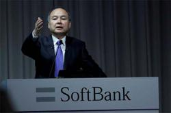 SoftBank CEO Son's pay down by half last year