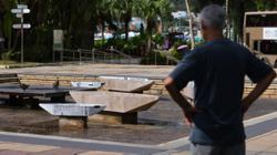 Words 'Hong Kong' and 'independent' removed from sculpture installation at Sai Kung park