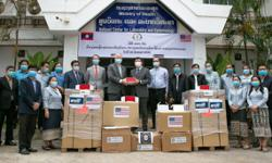 Laos: United States provides more equipment for Covid response
