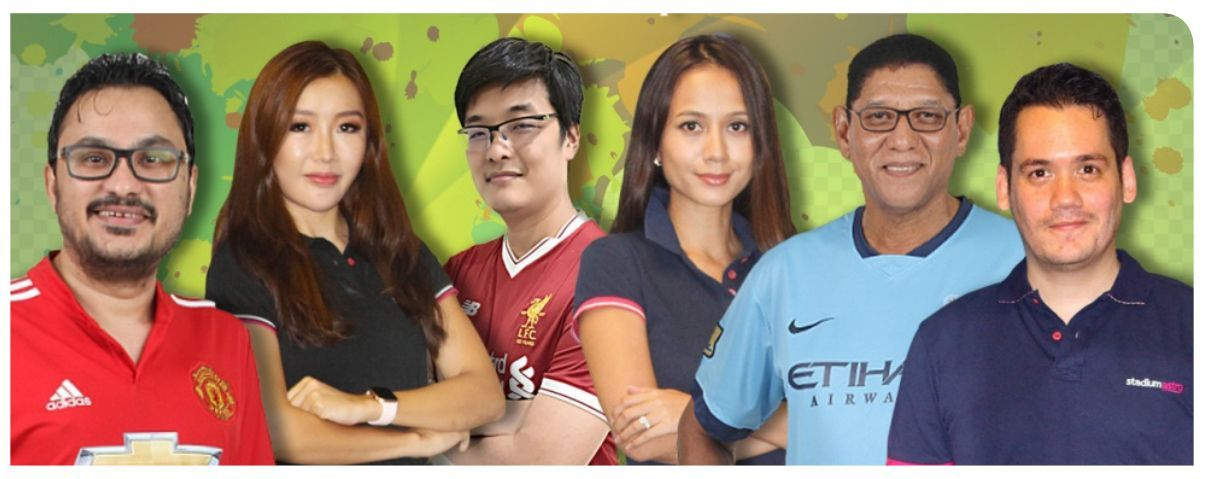 (From left) Randeep, Michelle, Ivan, Reem, Shaun and Adam